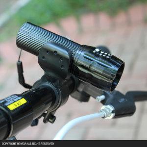 (09모아)손전등거치대 자전거후레쉬 거치대 랜턴