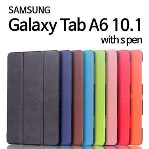 갤럭시 탭A6 10.1 SM P580 P585 with s pen slim case