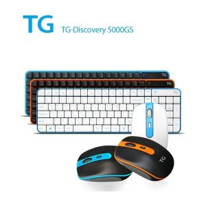 TG-DISCOVERY 5000GS 무선 무소음 키보드 마우스세트