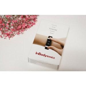 손목시계형 체지방 관리  인바디 밴드2 블랙색상