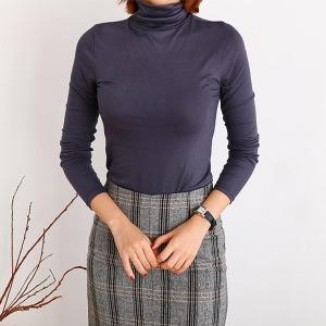 소프트텐셀 기본폴라티 여성 목폴라 목티 미시엄마옷