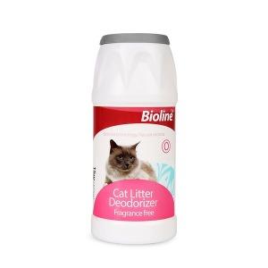 Bioline 고양이모래 냄세제거 파우더 탈취제 악취억제 - 상품 이미지