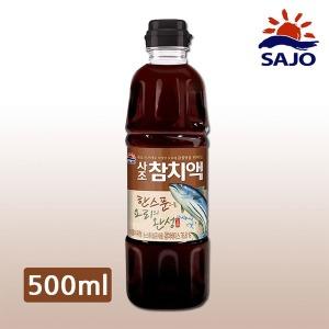 사조 참치액 500ml 액젓 한라 육수 피쉬소스 연두
