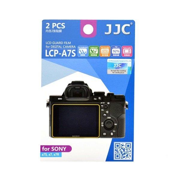 JJC LCD 가드 액정보호필름 LCP-A7S 2매 (소니 A7S/A7