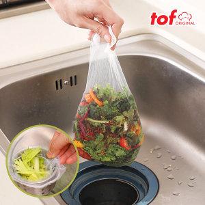 싱크대 배수 거름망(200매) 특대형사이즈/음식물수거함