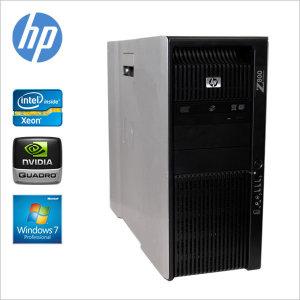 HP 워크스테이션 Z800 제온X5690 2 48G FX3800 3D작업