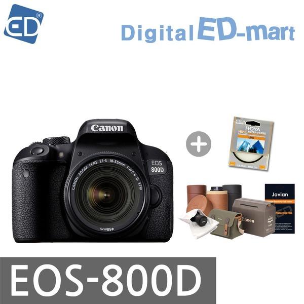 캐논정품 EOS-800D18-55 IS STM/ SD64G 풀패키지/ED