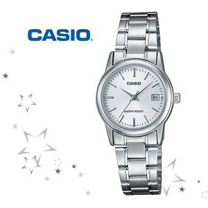정품 LTP-V002D-7A 카시오 아날로그 여성 시계 c10