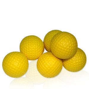 스마트연습용골프공 골프연습용품 딤플스폰지볼 6P