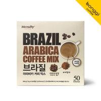 맥널티 브라질 아라비카 커피믹스 50개입/g7/맥심
