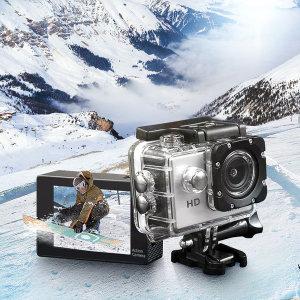 HD 액션캠 액션카메라 기본구성 + 방수케이스 포함