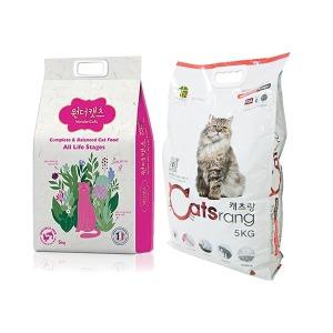 고양이사료 5kg~10kg캐츠랑 프로베스트캣