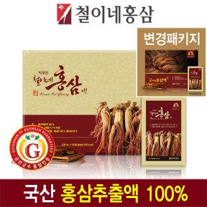 철이네홍삼 /지강인 철이네 홍삼액(100ml  50포)