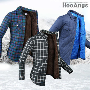 양털셔츠/패딩셔츠/체크셔츠/보아털/기모/남자/남방