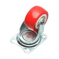 1.5인치 PVC 바퀴_레드(회전형)