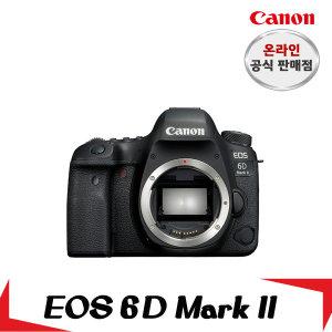 캐논총판  캐논 정품 EOS 6D Mark II Body