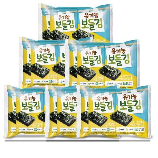 유기농 보들김(4gX16봉)/DHA+해조칼슘/광천김사용