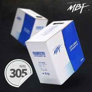MBF-C5E305B / CAT.5E UTP 랜 케이블 305M(블루)