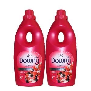 다우니 핑크 1L 베리베리바닐라크림향 2개 섬유유연제