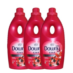 다우니 핑크 1L 베리베리바닐라크림향 3개 섬유유연제