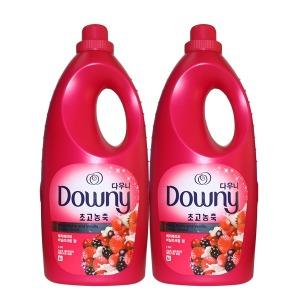 다우니 핑크 2L 베리베리바닐라크림향 2개 섬유유연제