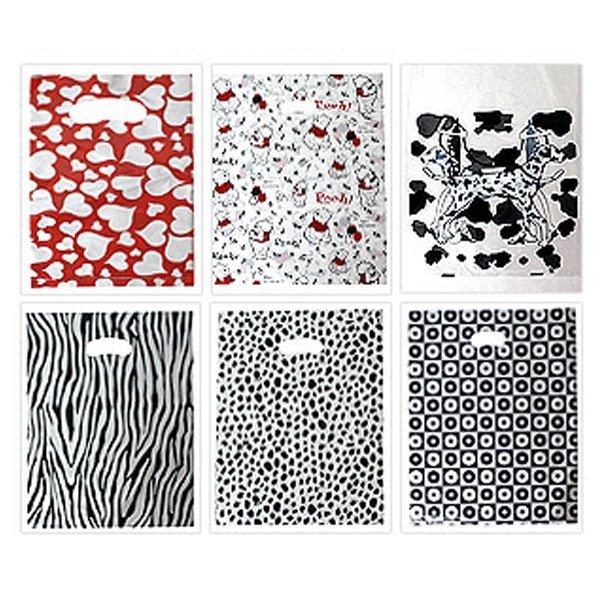 디자인 비닐쇼핑백 폴리백 손잡이 비닐봉투 로고인쇄