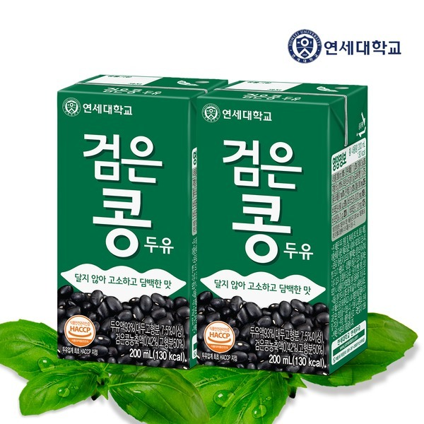 연세 검은콩두유 96팩 아몬드두유 팩두유