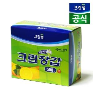 cleanwrap 크린랩 크린장갑 (500매) / 비닐장갑 - 상품 이미지