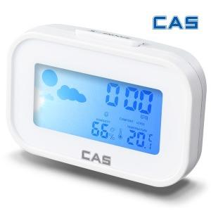 탁상시계 디지털 온습도계 T022 화이트 온도계 습도계