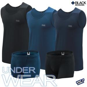블랙마운틴 기능성 속옷 남자속옷 런닝 팬티 상하세트