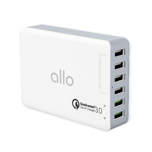 6포트 퀄컴 QC3.0 고속 멀티충전기 UC601QC30 핸드폰