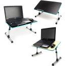 OMT 접이식 테이블 각도높이조절 노트북 책상 ONA-Q8