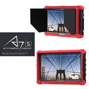 LILLIPUT 릴리풋 A7s 카메라 촬영 프리뷰 모니터