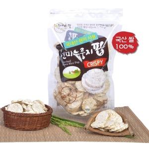 현미 누룽지팝 120g 뻥튀기 아기과자 강냉이 옛날과자
