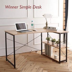 위너 컴퓨터책상/테이블/책상/L자 책상/일자책상