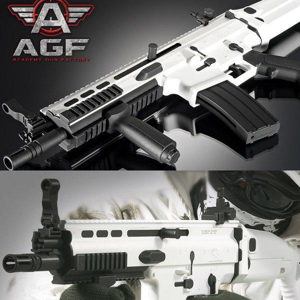 아카데미 에어건 FN SCAR-L CQC  SNOW CAMO  (17112)