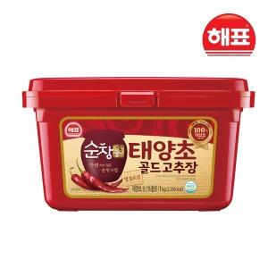 순창궁 태양초 골드 고추장 1kg 보통 매운맛