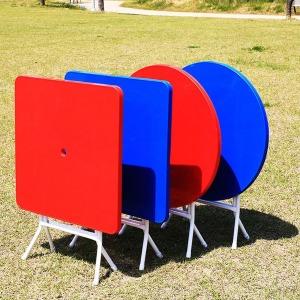 야외용 플라스틱 테이블 야외 행사 편의점 포장마차
