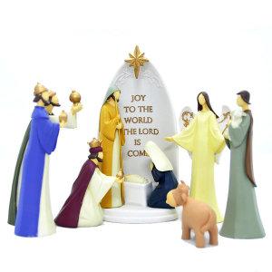 가톨릭 성물  LED 성탄구유(8pcs)