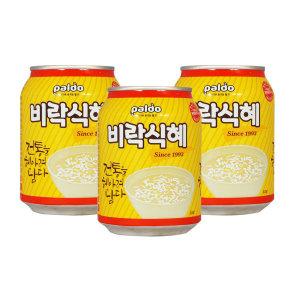 비락식혜 238ml x 24캔 / 식혜 음료수