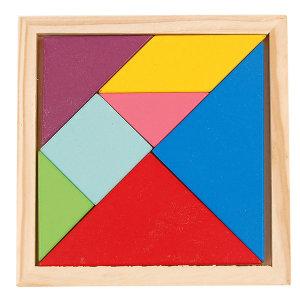 원목칠교(중) 칠교퍼즐 학습교재 칠교조각 퍼즐