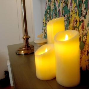 led촛불 led캔들 양초와같은느낌 흔들리는촛불