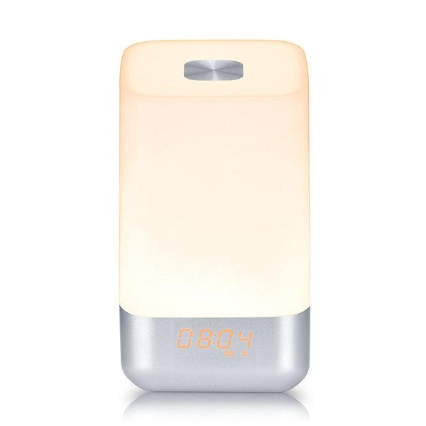 LED 음향 알람시계 / 무드등 탁상등