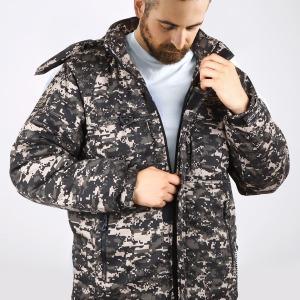 BL디지털 방한복 야상패딩자켓 겨울작업복점퍼 파카