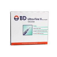 BD 인슐린 주사기 1ml 31G 8mm 100개입/울트라파인