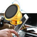 OMT 차량용 자석 거치대 핸드폰 휴대폰 OSA-MG360 골드
