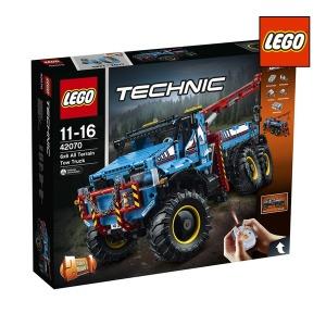 레고 테크닉 42070 6x6 견인트럭