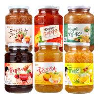낙타마트/담터 꿀차 1kg 6종 /유자.생강.레몬.자몽