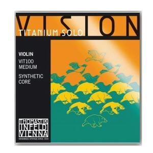 Vision 티타늄 솔로 바이올린 줄 세트/현 세트