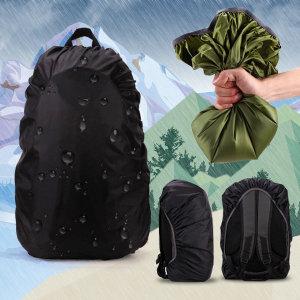 배낭방수커버 35L-80L개별사이즈 레인커버 배낭 가방